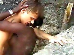 black female-friendly stud beach ebony