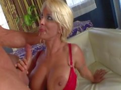 holly halston huge-boobs blonde interview blow-job