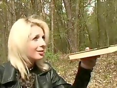 blonde blowjob hardcore old young outdoor