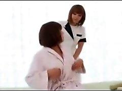 japanse lesbiennes massage