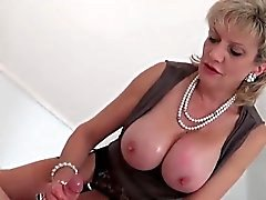 big boobs femdom fetish handjob mature