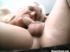 blonde blowjob granny