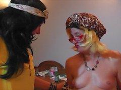 oral sex peeing mature