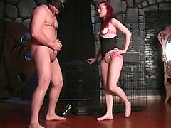 ball licking bizarre dominatrix extreme femdom