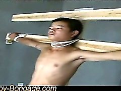 asian bdsm bondage boy cum