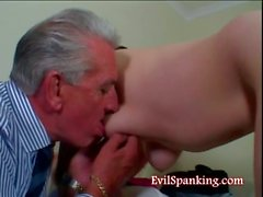hardcore fetish spanking