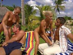 ryhmään sukupuolta olevien henkilöiden blondi tyttö ulko anaali