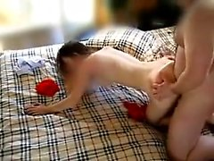 amateur asslick blowjob brunette doggystyle