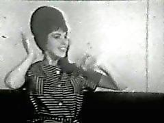 50 anos 60 anos nylons dança curvilínea