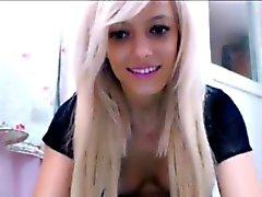 amateur blonde solo