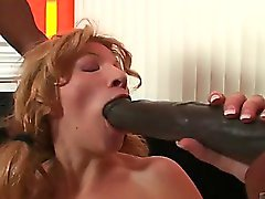 amateur blonde blowjob hardcore interracial