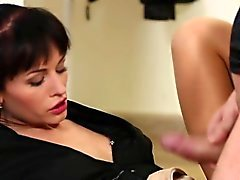 brunette cumshot european hd