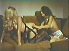 blonde brunette girl-on-girl