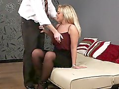 big boobs blondine blowjob abspritzen