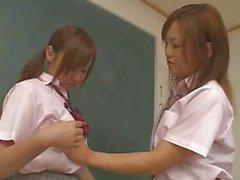 giapponese lesbica asiatico uniforme