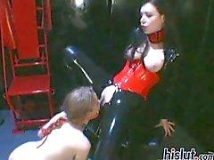 latex lesbisch dominaton slavernij