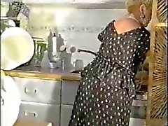 Mature Grandma Teasing In Stockings And Girdle