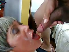 crossdresser sucking ass fucking mature cumshot