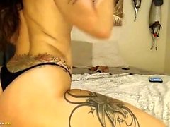 Busty babe toying her sex craving pussy in solo