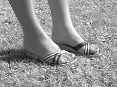 feticismo del piede biancheria intima