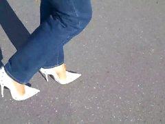 feticismo del piede milfs calze