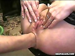 anal close-up fisting
