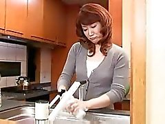 japanese kitchen mature asians