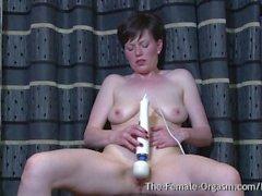 femaleorgasm striptease masturbating contractions pulsing