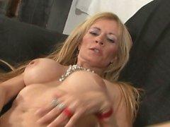 big boobs blondine blowjob