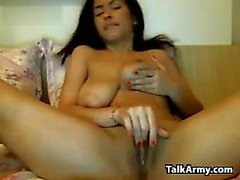 big boobs brunette masturbation