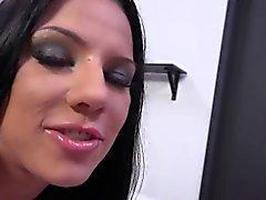 big cocks brunette facial