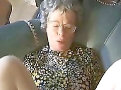 facial granny hardcore stockings