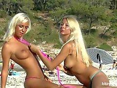 Natali Blond Lea Tyron white sands cont.