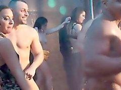 amateur blowjob cfnm group sex public