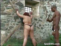 ass fetish interracial outdoor