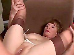 anal blowjob brünett oma