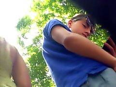 блондинках скрытые камеры подростковый возраст upskirts вуайерист