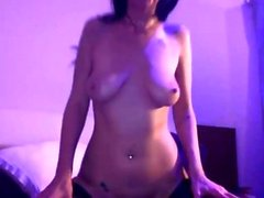 brunette fetish solo toys webcam