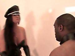 bdsm brunette femdom hd interracial