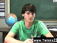 Gay XXX Jeremy Sommers is seated at a desk and an interview