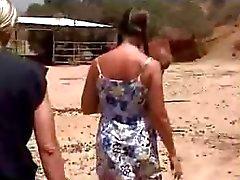 Amateur schoolgirl fucking on the farm