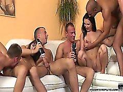 бисексуал блондинка групповой секс хардкор порнозвезда