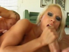 blondine blowjob creampie hardcore hd
