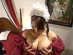 big tits maids stockings