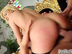 anal blonde blowjob double penetration