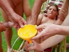 fetish gang bang golden shower liquids