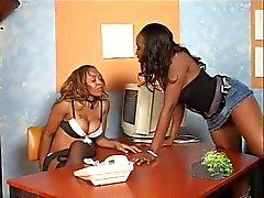 black and ebony lesbians pornstars sex toys upskirts