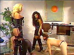 group sex domination blonde caucasian stockings
