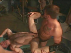 gay group sex muscle outdoor
