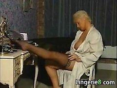 big boobs lingerie mature milf